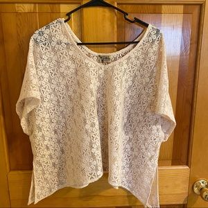 Show me your Mumu lace top